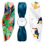 "MONTRE TREND ""SATIN""- TROPICAL"