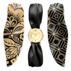 "MONTRE TREND ""SATIN""- DARK GOLD"
